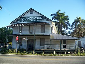 National Register of Historic Places listings in Miami-Dade County, Florida - Image: Goulds FL Anderson Store 01