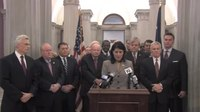 File:Governor Nikki Haley holds a press conference with Higher Education.webm