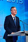 Governor of Florida Jeb Bush at Southern Republican Leadership Conference, Oklahoma City, OK May 2015 by Michael Vadon 141.jpg