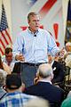Governor of Florida Jeb Bush at TurboCam, Barrington, NH 1 on August 21th by Michael Vadon.jpg