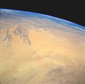 Grand Erg Occidental - Image: Grand Erg Occidental STS059 238 88