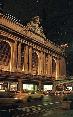 b022fc9ba La estación Grand Central: los ferrocarriles estaban en el origen del  desarrollo económico de Nueva York en el siglo XIX.
