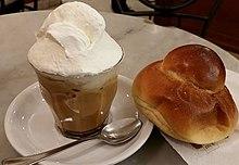 Granita caffè e panna nel messinese