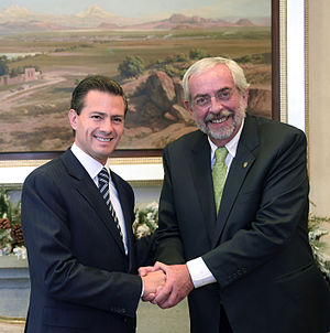 Enrique Graue Wiechers - Graue Wiechers meeting with President Enrique Peña Nieto in December 2015