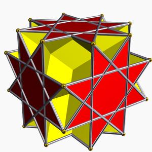 Great rhombihexahedron - Image: Great rhombihexahedron