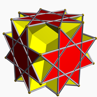 Great rhombihexahedron - Image: Great rhombihexahedron