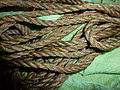 Green decorated rope.JPG