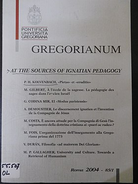 Image illustrative de l'article Gregorianum