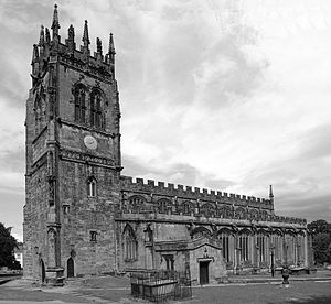 All Saints' Church, Gresford - Taken in 2003