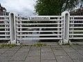 Grote Houtbrug - Haarlem - Metal railing with name plate.jpg