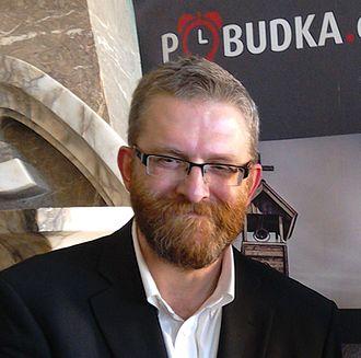 Polish presidential election, 2015 - Image: Grzegorz Braun, June 05, 2016, Kielce