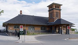Guelph Central Station - The heritage Grand Trunk Railway building
