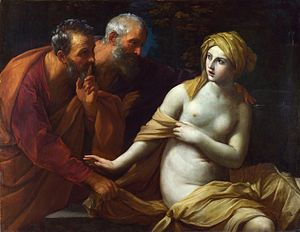 Book of Daniel - Susanna and the Elders by Guido Reni (1820-1825)