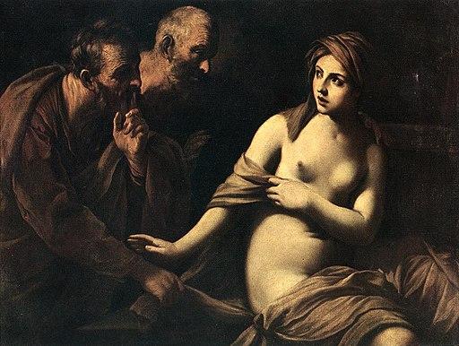 Susanna and the Elders by Francesco Ciseri