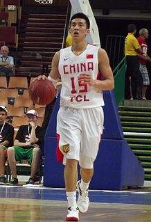 Guo Ailun Chinese professional basketball player