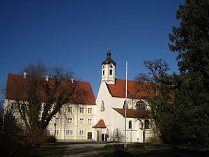 Gutenzell Abbey - Parish Church Saints Cosmas and Damian, former monastery church