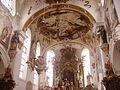 Gutenzell Kloster Gutenzell St. Kosmas & Damian Innen Chor 2.jpg
