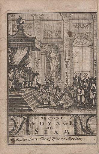 Guy Tachard - Second voyage du pere Tachard et des Jesuites envoyes par le roy (1689)
