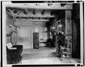 HALLWAY, LOOKING TOWARD FRONT DOOR - Edwin H. Abbot House, 1 Follen Street, Cambridge, Middlesex County, MA HABS MASS,9-CAMB,39-7.tif