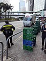 HK 中環 Central 干諾道中 Connaught Road Central Traffic uniform at work November 2020 SS2.jpg