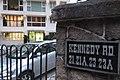 HK 灣仔 Wan Chai 堅尼地道 21 Kennedy Road 富士屋 Fujiya Mansion evening Nov 2017 IX1 sign.jpg