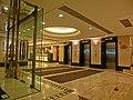 HK North Point Java Road 粵華酒店 South China Hotel interior lobby hall lift Mar-2013.JPG