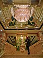 HK TST East 香港富豪九龍酒店 Regal Kowloon Hotel lobby interior stairs visitor Feb-2013.JPG