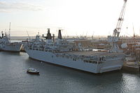 HMS Albion-Portsmouth-01