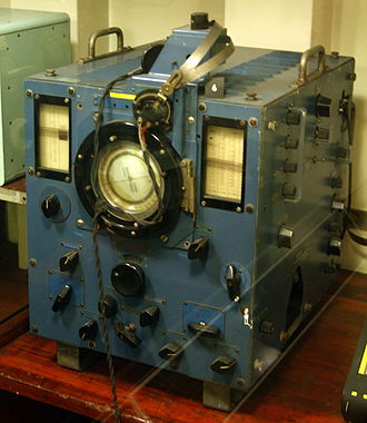 High-frequency direction finding - Image: HMS Belfast Huff Duff