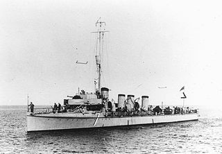 <i>Hugin</i>-class destroyer