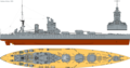 HMS Nelson (1931) profile drawing.png