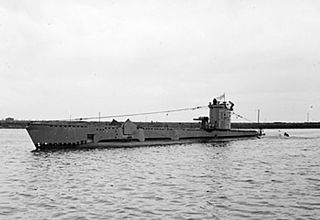 HMS <i>Venturer</i> (P68) Was a Second World War British submarine of the V class
