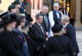 HRH Prince Andrew, Secretary of State Karen Bradley & Irish Minister Damien English joined church leaders & other invited guests for a special Service of Remembrance commemorating the end of WW1 at the Belfast Cathedral. (31974602478).png