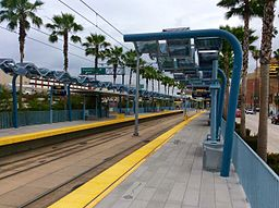 HSY- Los Angeles Metro, Jefferson-USC, Platform View