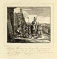 HUA-39483-Afbeelding van bisschop Hendrik van Vianden bij zijn terugkeer uit de slag bij Utrecht 16 juni 1252 met Gijsbrecht van Amstel en Herman van Woerden al.jpg
