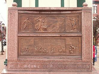 Sharpsburg, Pennsylvania - H.J. Heinz Memorial Plaza
