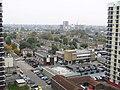 Hackney London October 20 2015 London Skyline From Corbiere House De Beauvoir Estate - panoramio.jpg