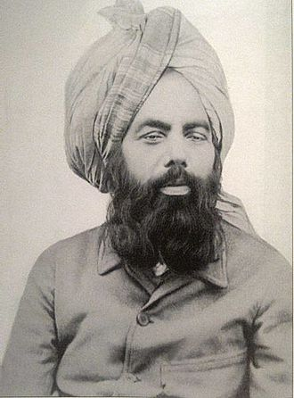Mahdi - Mirza Ghulam Ahmad, founder of the Ahmadiyya Movement in Islam, accepted as the Promised Messiah and Mahdi in Ahmadiyya
