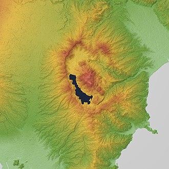 Mount Hakone - Image: Hakone Volcano 3D 2013