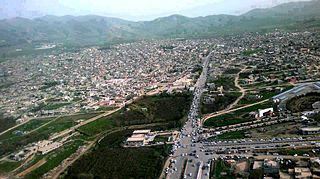 Halabja City in Iraqi Kurdistan, Iraq