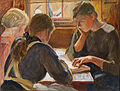 Halonen, Pekka - Children reading - Google Art Project.jpg