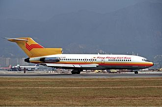 Air Vietnam Flight 706 - An Air Vietnam Boeing 727, similar to the aircraft involved in the incident