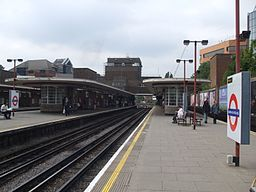 Harrow-on-the-Hill stn platform 5 look north