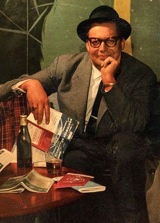 Harry Arnold - Harry Arnold on the cover of a 1958 LP.