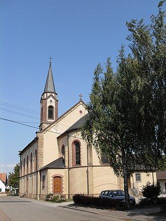 Hartheim am Rhein - St. Peter-and-Paul-Church Hartheim