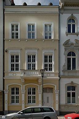 Haus Wasserstrasse 10 in Duesseldorf-Unterbilk, von Osten