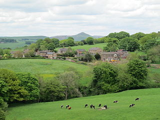 Heaton, Staffordshire village and civil parish in Staffordshire, England