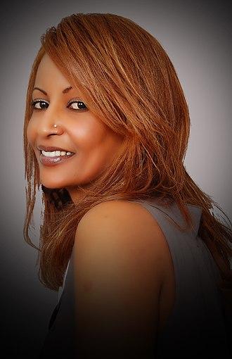 Tigrinyas - Tigrinya singer and actress Helen Meles