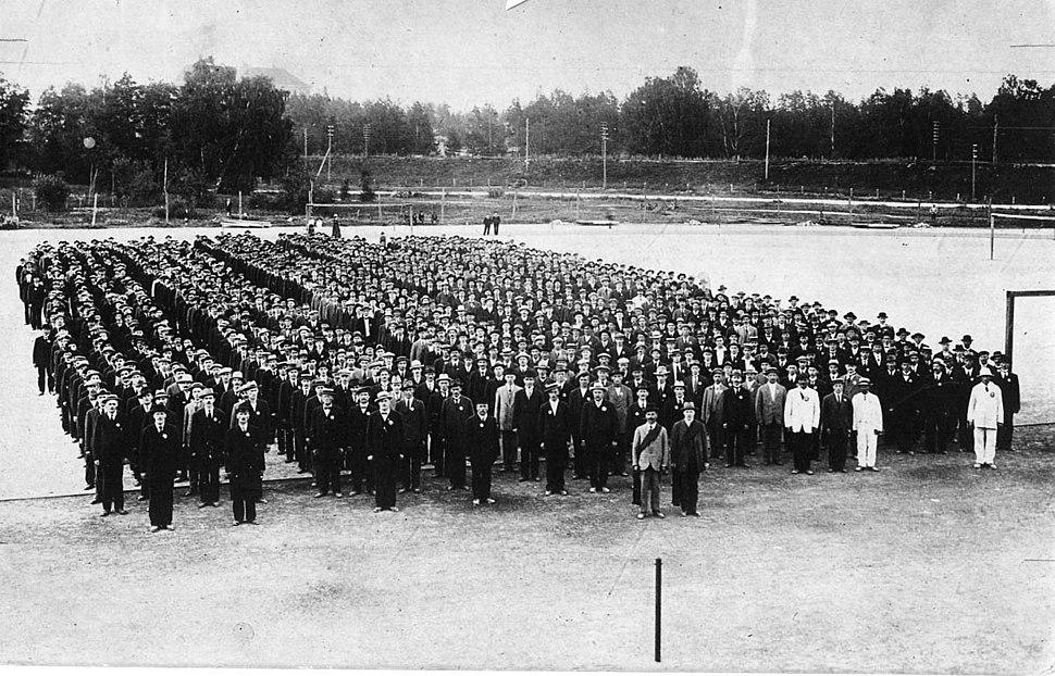Helsinki Worker%27s Order Guard 1917