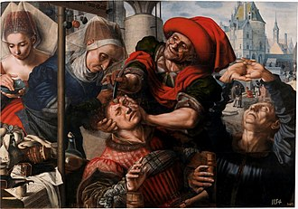 Stone of madness - Image: Hemessen cirujano prado